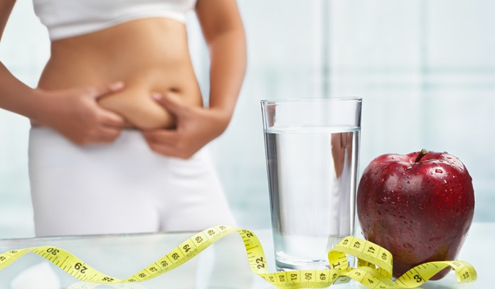Apple shaped bodies should eat lots of fiber to prevent weight gain in the stomach.