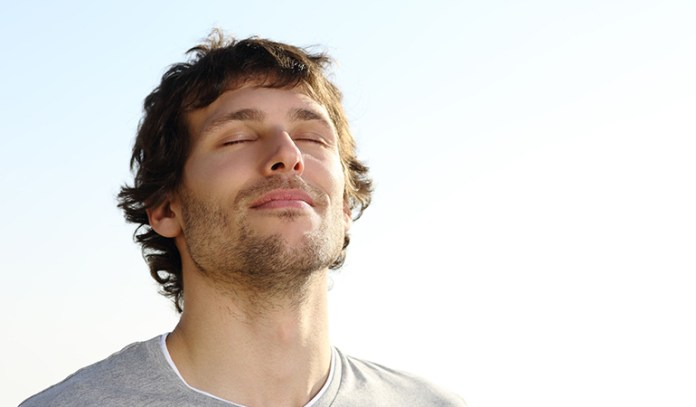 Deep breathing to prevent stress from building up