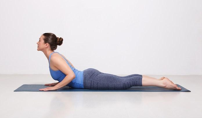 Yoga for tailbone pain cobra pose