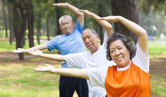 Exercising increases body balance in Parkinson's