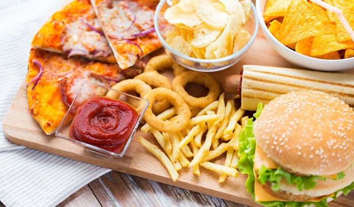 Fatty foods can inflame the stomach lining and increase gastritis issues