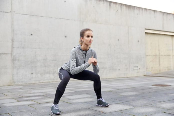 5 Exercises To Do When On the Go: Squat/Front Kicks
