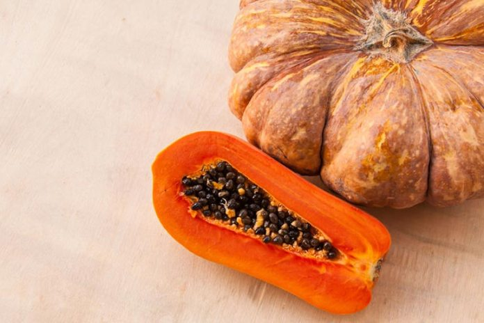 Papayas and pumpkins are known for their anti-parasitic properties.