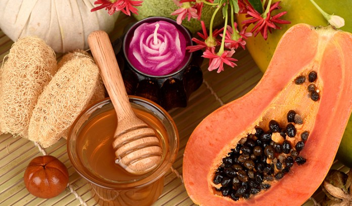 home remedies for wrinkles under eyes papaya and honey