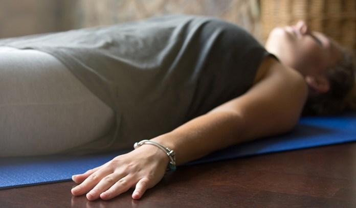Progressive relaxation helps de-stress quickly