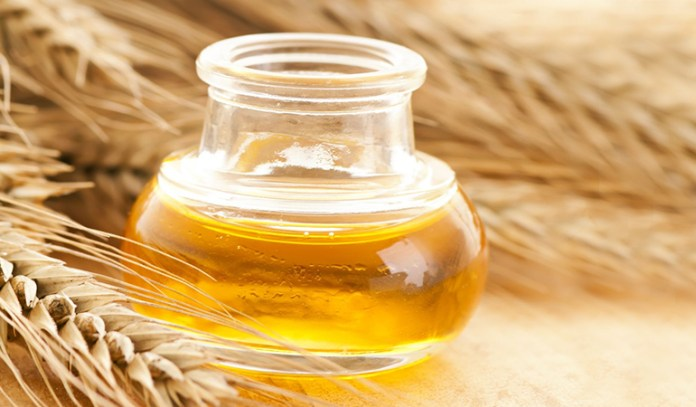 Wheat germ oil to get rid of double chin