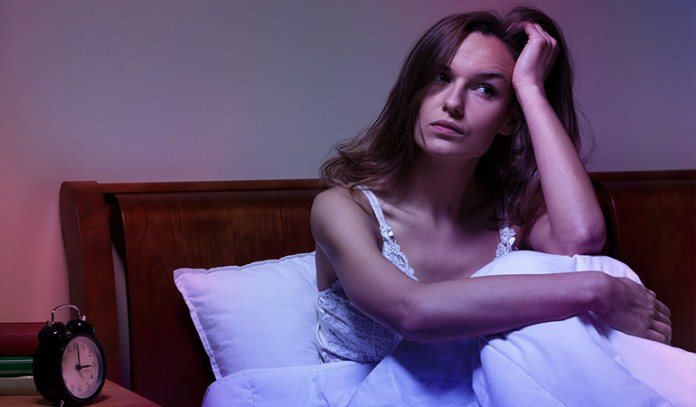Stress more dangerous in women under 50 sleep issues