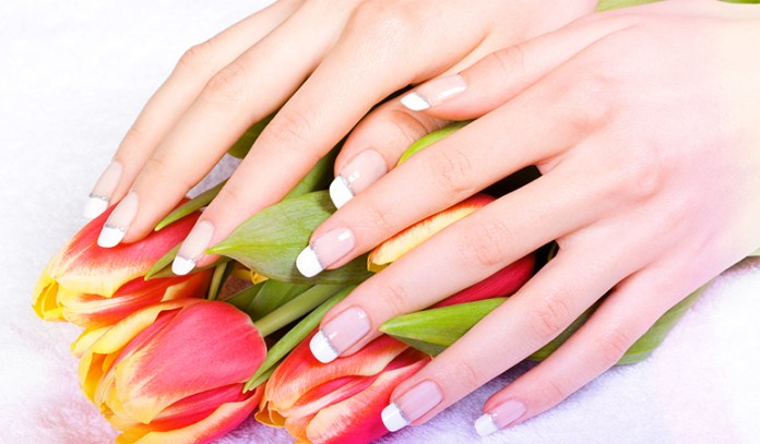 Bleaching properties can remove nail stains.