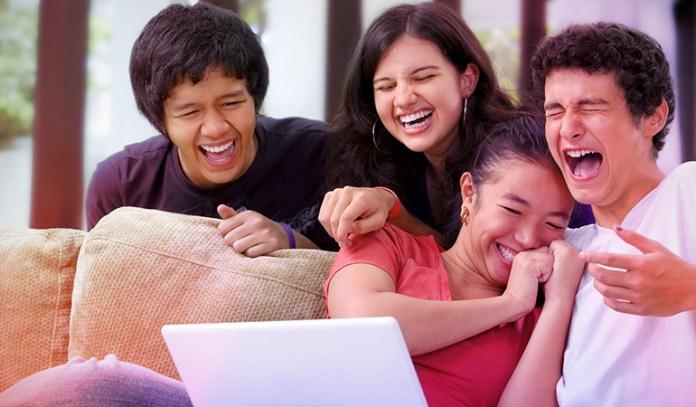 Laughing enhances metabolism