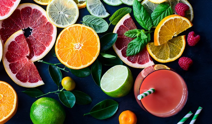 fiber in citrus fruits relieves constipation
