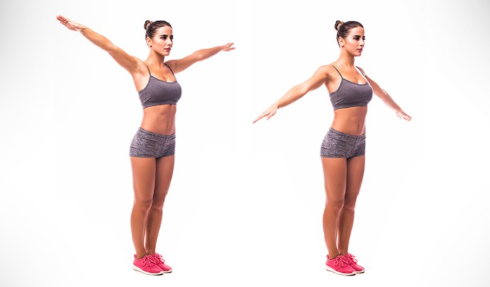 This exercise will enable good activation of the shoulder joint and help keep the joint lubricated
