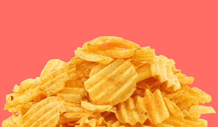 Even if the chips are baked they still contain some sugars in them already existing that can cause harm to you