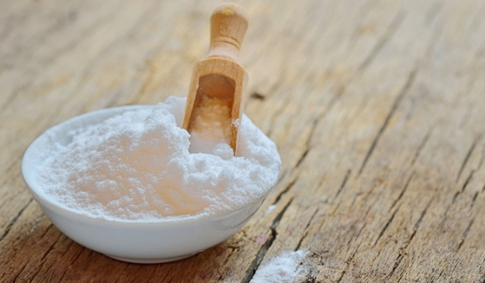 Forming a paste of baking soda and charcoal will help neutralize the odor that arises from the Eczema