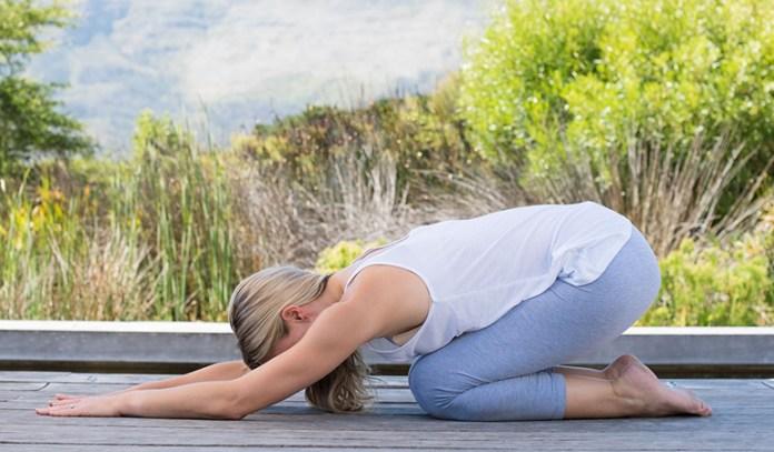 Yoga poses for older beginners Child Pose Shishuasana