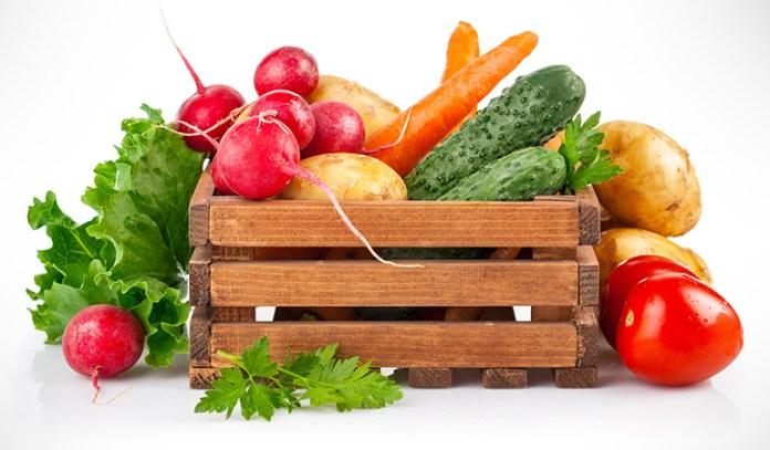 Veggies such as cucumber, potato, pumpkin, and broccoli help balance pitta dosha