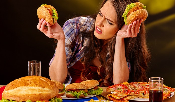 eating unhealthy foods can harm the brain