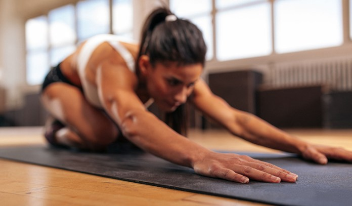 Choose the right menstrual product that you're comfortable using while working out.