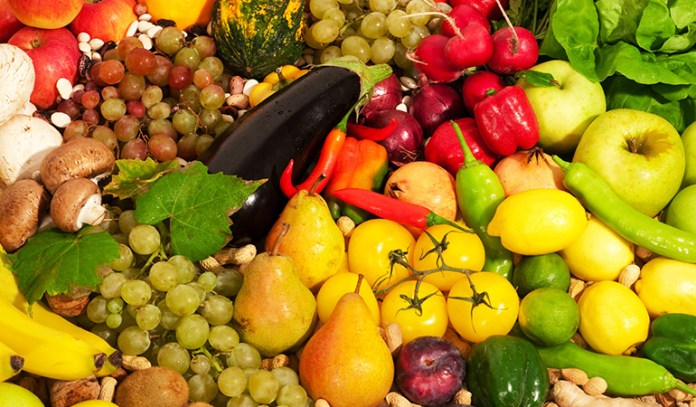 fruits and vegetables are good to eat when sick
