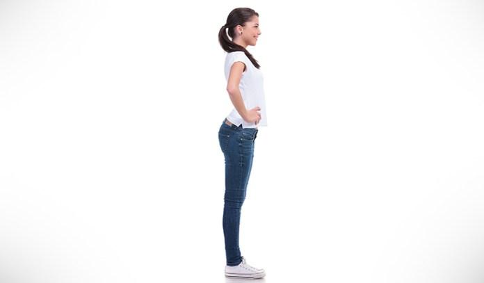 Assume correct posture before starting