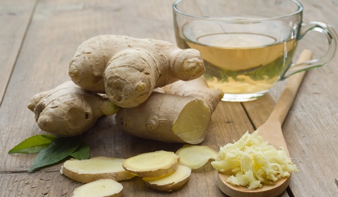 ginger is healthy and speeds up recovery
