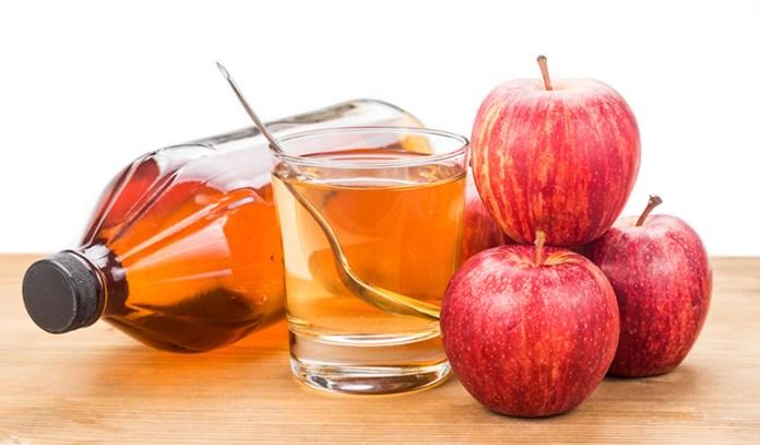 Apple cider vinegar is best drunk diluted in water.