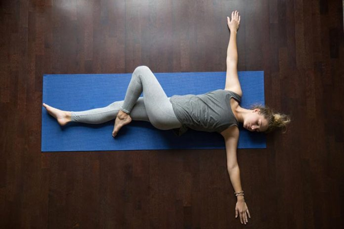 Reclining Spinal Twist Pose Is Good For Your Back
