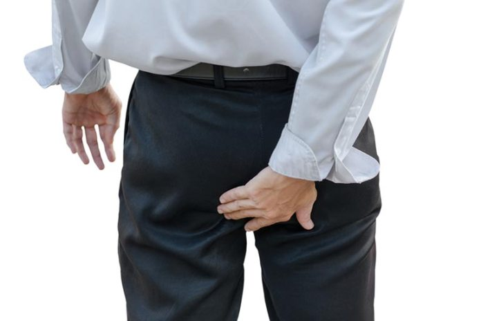 Hemorrhoids occur when the veins around the anus or inside the rectum get dilated swollen with blood.