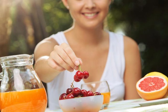 For most fruits, a single half cup means a serving; this includes frozen, fresh, and 100% juice.