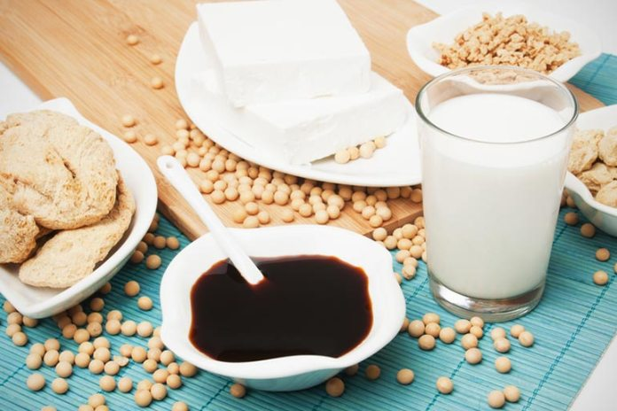 Soy products treat mood swings