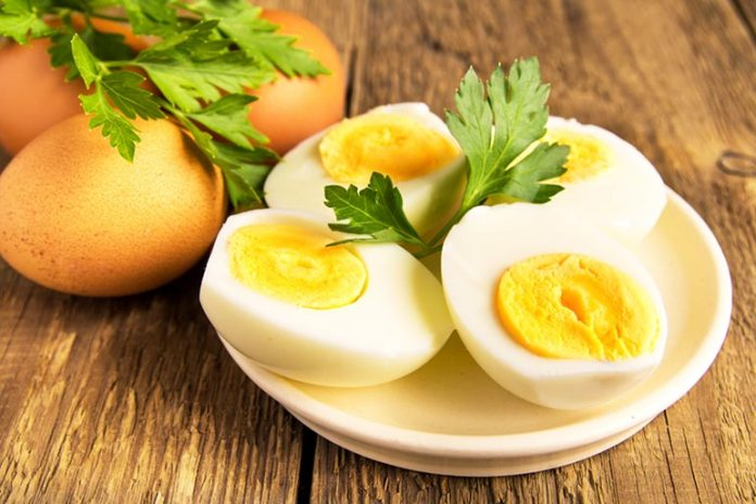 Eggs will help to consume fewer calories