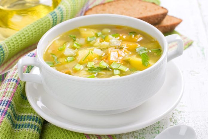 Broth-Based Soups: high in protein, reduce calorie intake