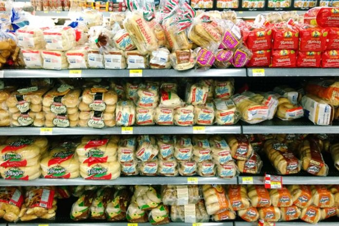 Shelved bread is a common source of added (not natural) fibers and refined grains.