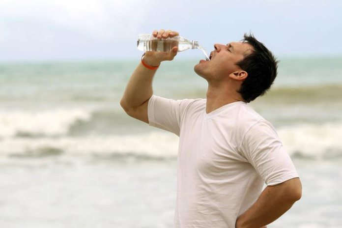 drinking water for normal functioning of body