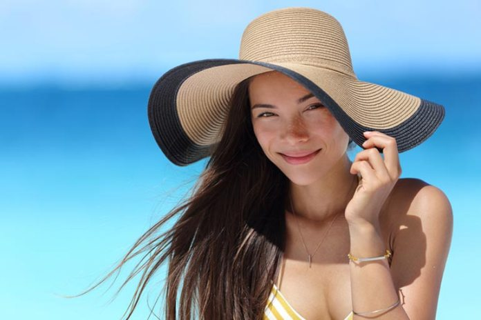 Wide-Brimmed Hats Stop Excessive Facial Sweating