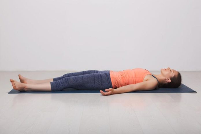 Corpse Pose Relaxes Your Whole Body