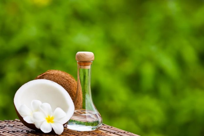 Coconut oil is antibacterial, reduces acne, and also works as a makeup remover.