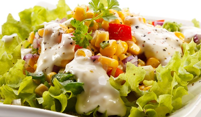 Eating healthy salads with the dressing that is considered as low fat is still high in salts that can increase your blood pressure