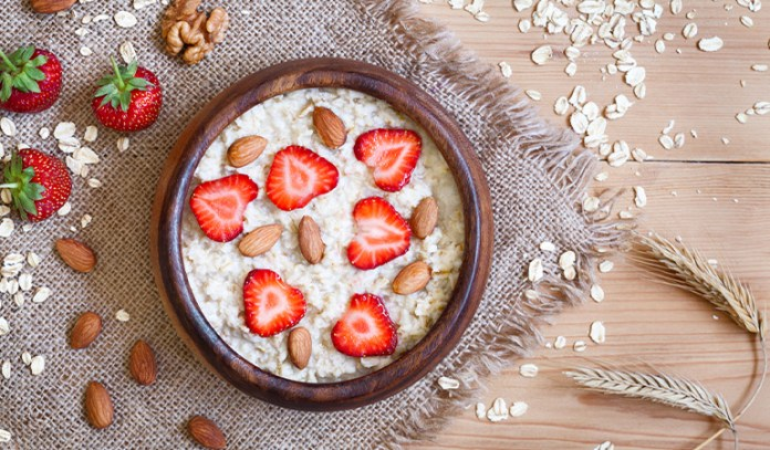 Porridge And Oatmeal Is A Good Pre-Workout Snack