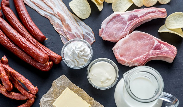 Saturated Fat Clogs Up Arteries