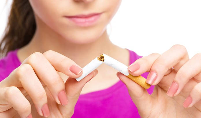 Quitting The Habit Of Smoking Can Fight Early Menopause Symptoms