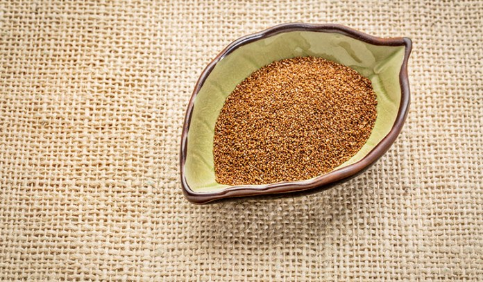 teff is gluten-free and healthy