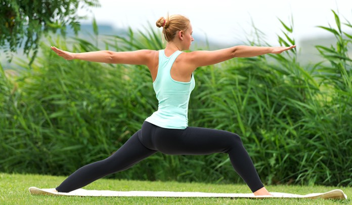 This pose provides the body and mind with balance and clarity