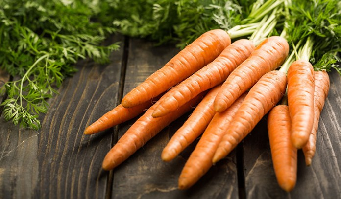 Vegetables are just a source of precursors of vitamin A and can cause deficiencies.