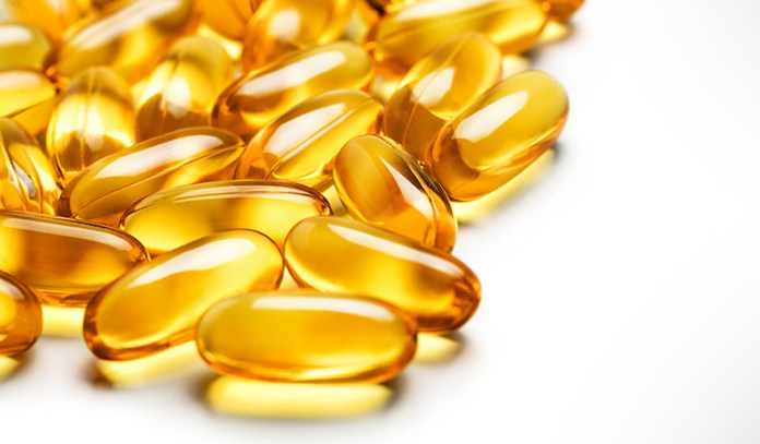 Vitamin E capsules are rich in antioxidants and boost eyelash growth.