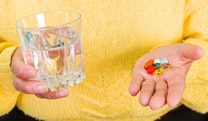 Some medication may lead to weight gain around your tummy area