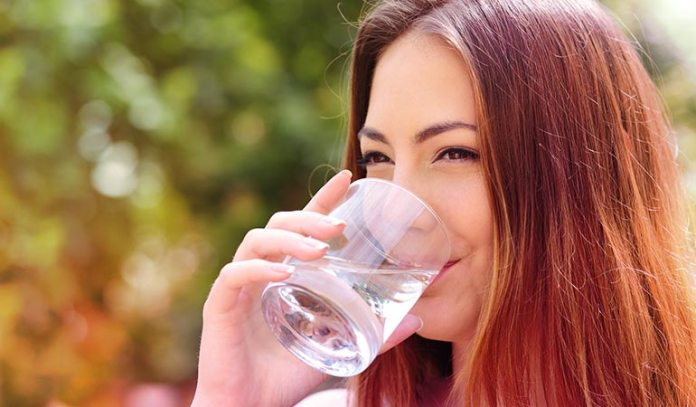 Water can reduce weight