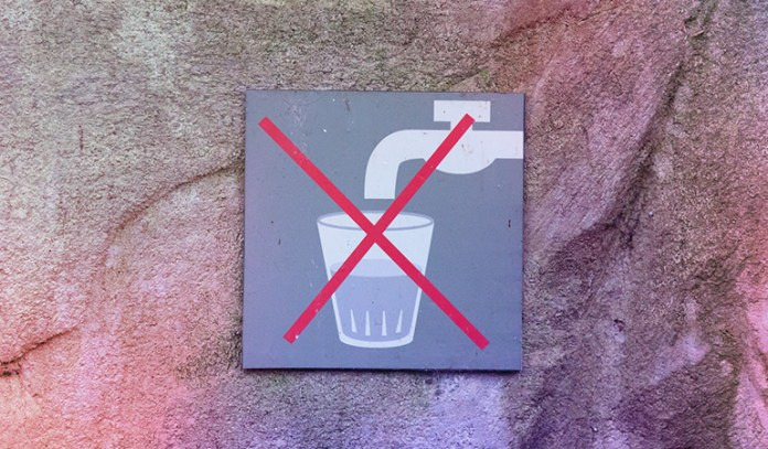 :Insufficient intake of water