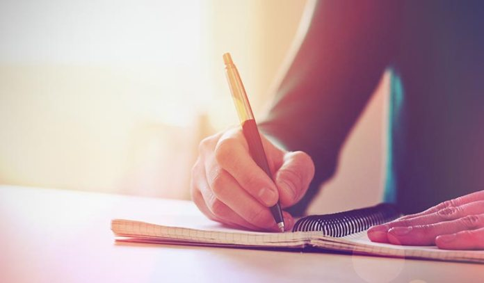 Writing can help us sift through our thoughts
