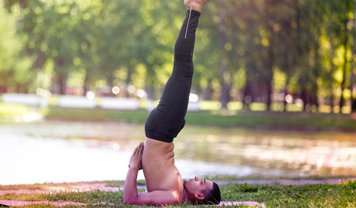 Though difficult, this pose is great to maintain digestive health.