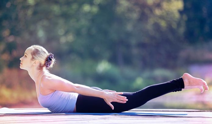 Certain asanas, when practised regularly, help lower choelsterol levels.